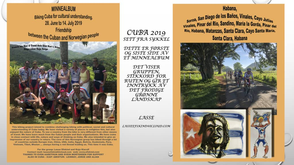 Cuba på sykkel minnealbum